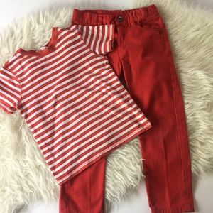 Kids size 4T set H&M
